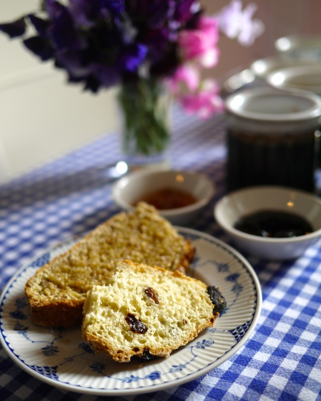 Warm Homemade Breads | Rhubarb Ginger Jam & Blackcurrant Jam