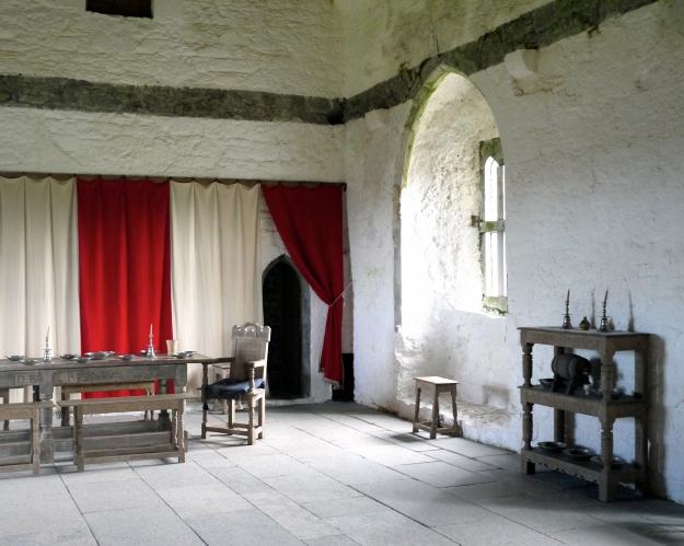 Private living quarters of the Lord and Lady