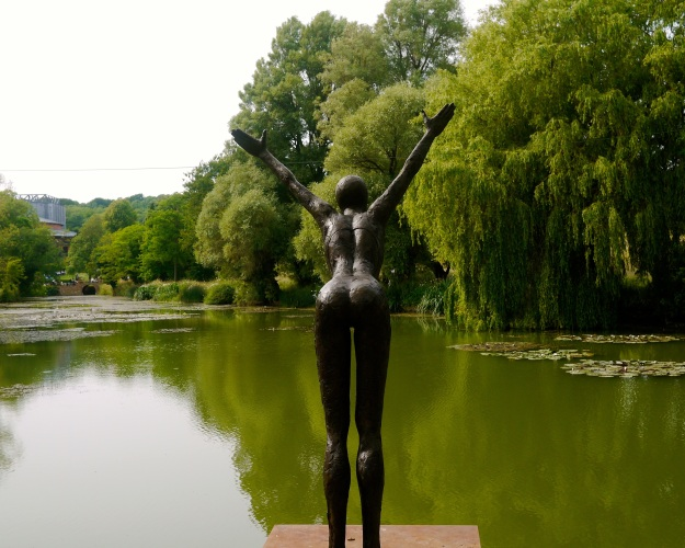 Glyndebourne grounds are dotted with garden sculptures
