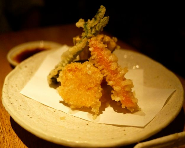 yasai no moriawase | assorted vegetable tempura