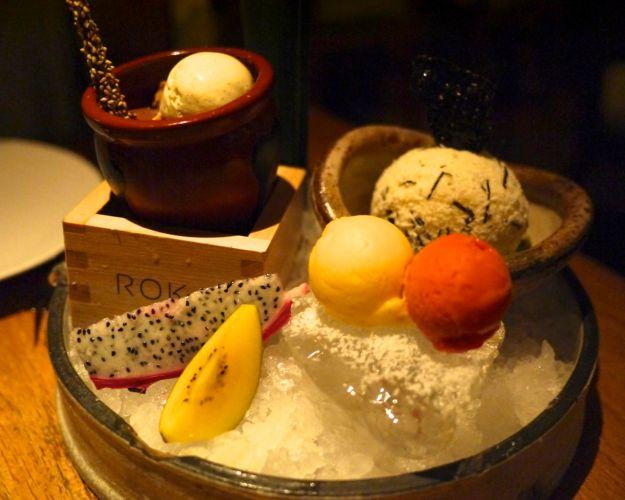 ROKA mini dessert platter