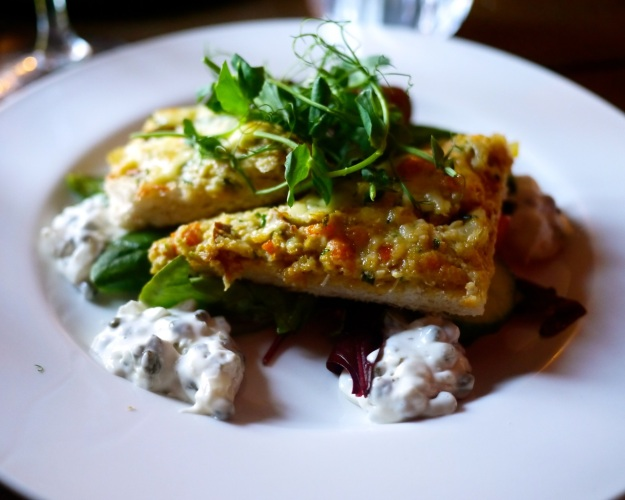 Smoked haddock & crab rarebit