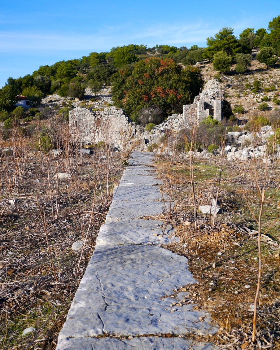 Taking a Hike: Ancient Byzantine Ruins