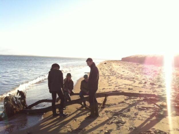 New Year's Day 2013, Dornoch Beach, Scotland