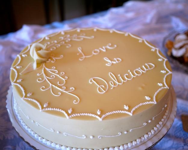 SHOWER CAKE