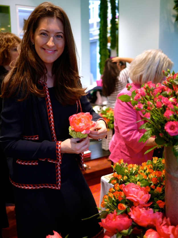 Kate Spade floral demo dress