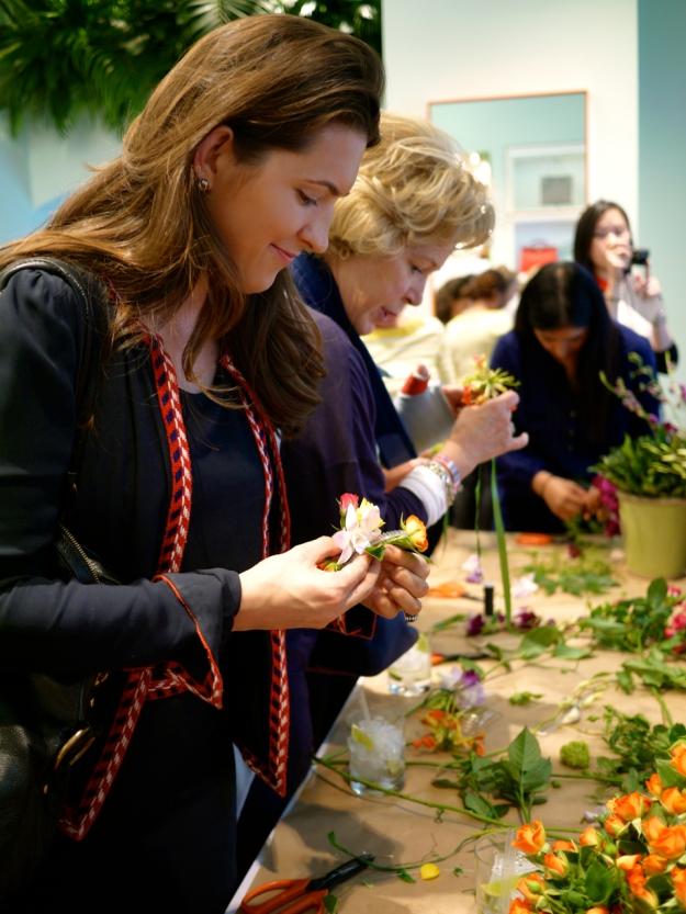 Kate Spade floral demo