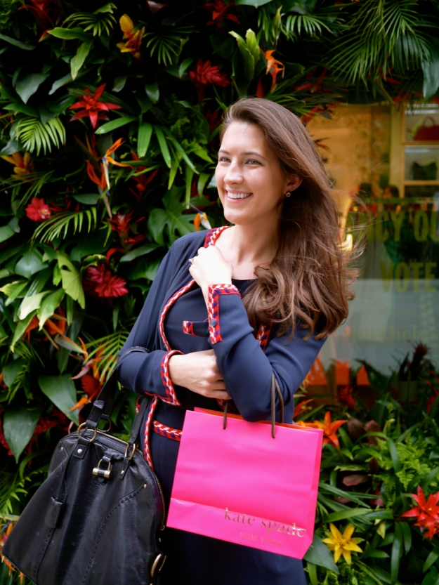 Kate Spade outside floral