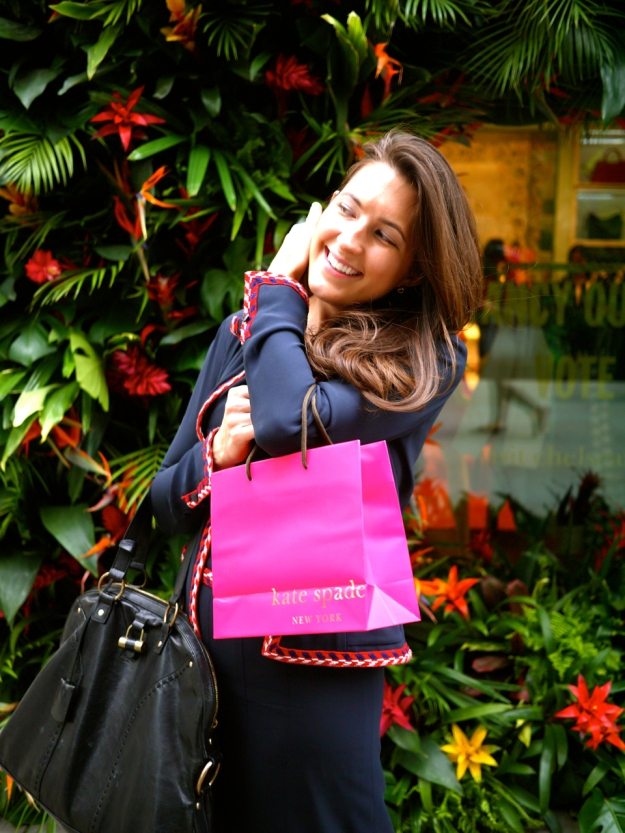 Kate Spade outside