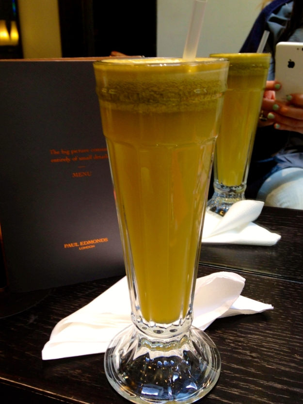 Paul Edmonds green juice