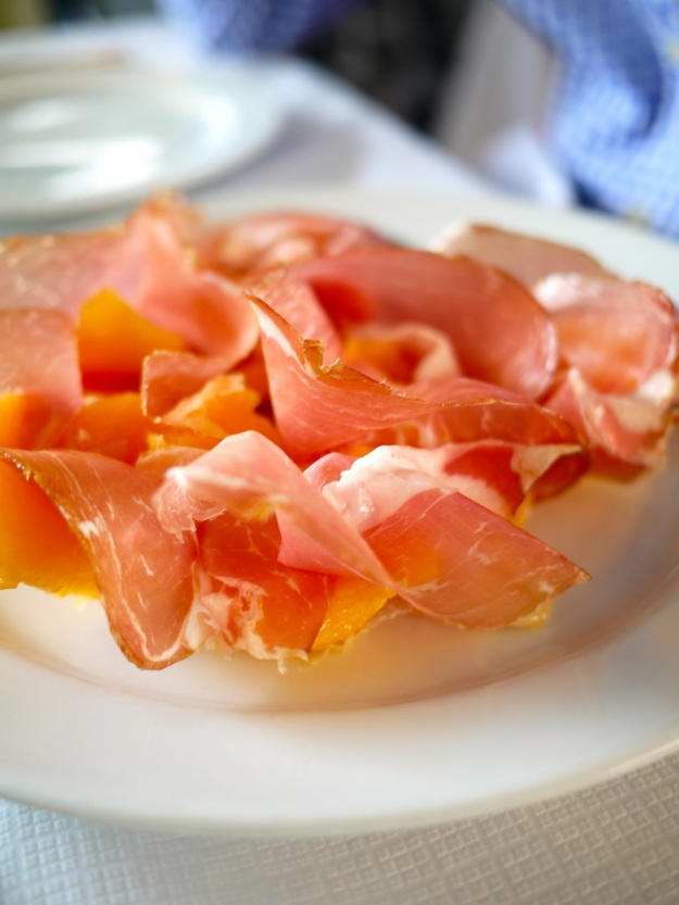 Culatello di Zibello – with Charentais melon