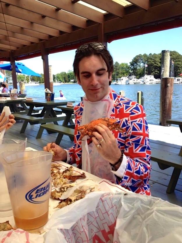 Crab Feast Eddie