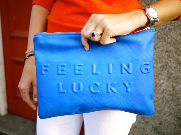 Feeling Lucky Clutch