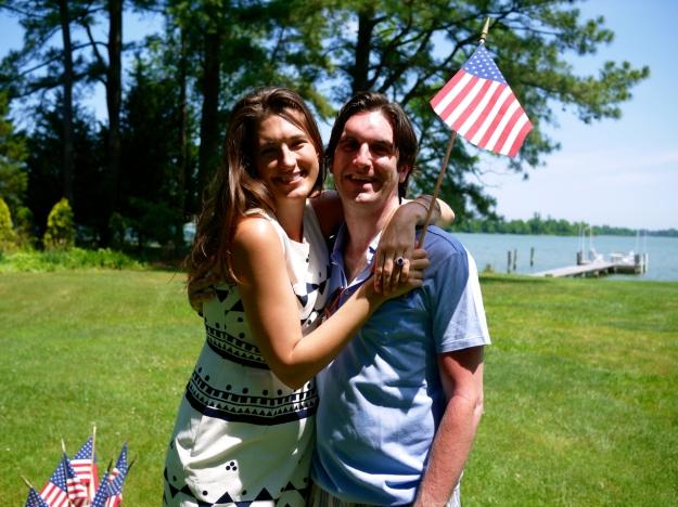 flag couple