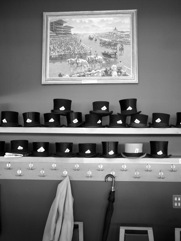 Royal Ascot Commissioners Box Hat Shelf