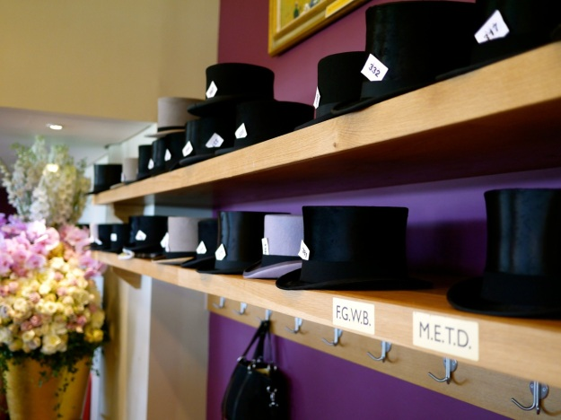 Royal Ascot Commissioners Box Hat Shelves