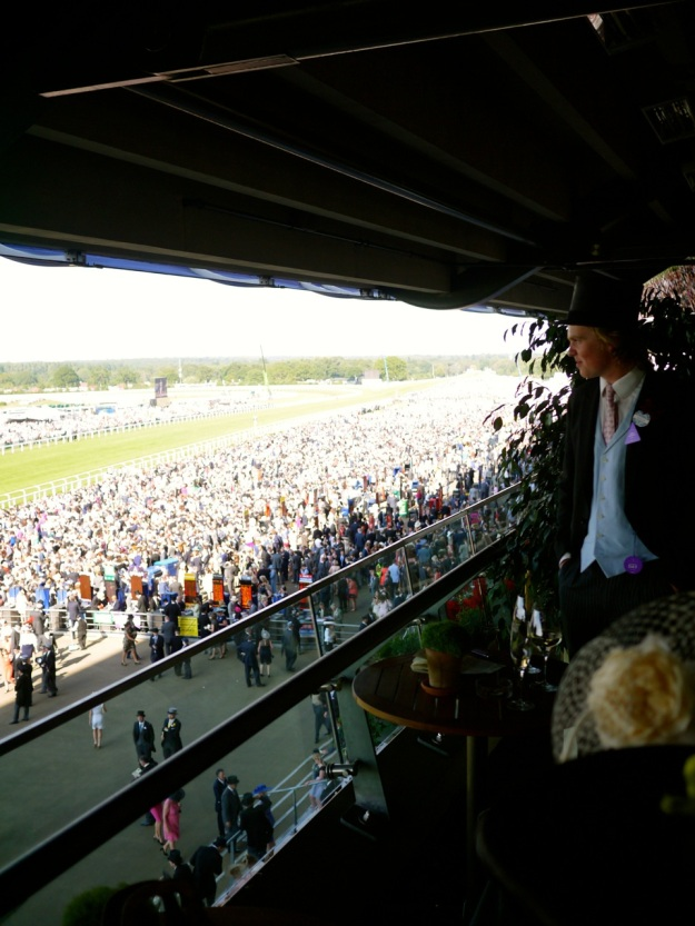 Royal Ascot Commissioners Box View