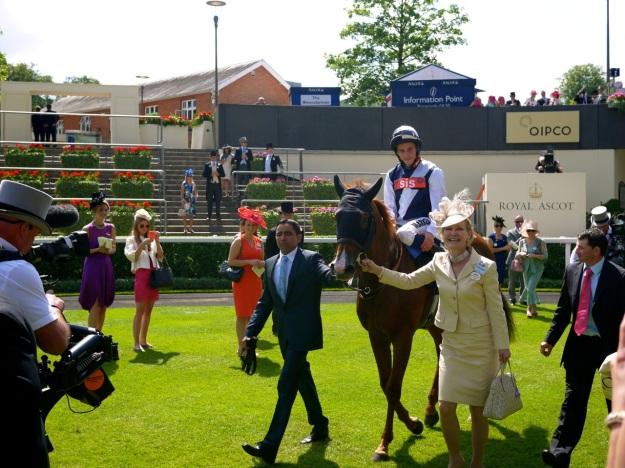 Royal Ascot Jockey Winning