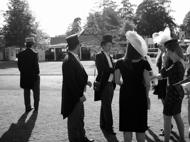 Royal Ascot Paddock Standing