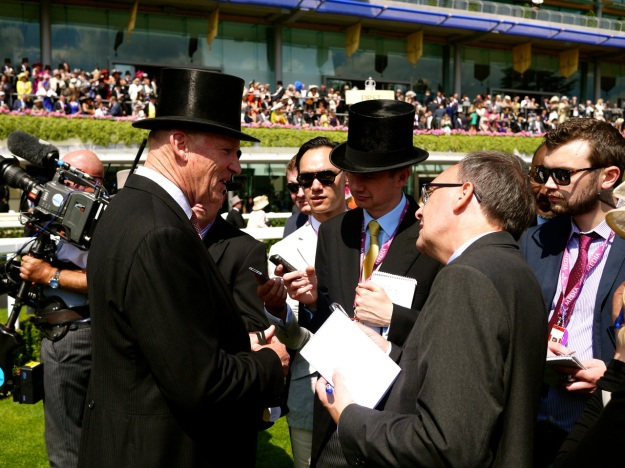 Royal Ascot Parade Ring John Interview