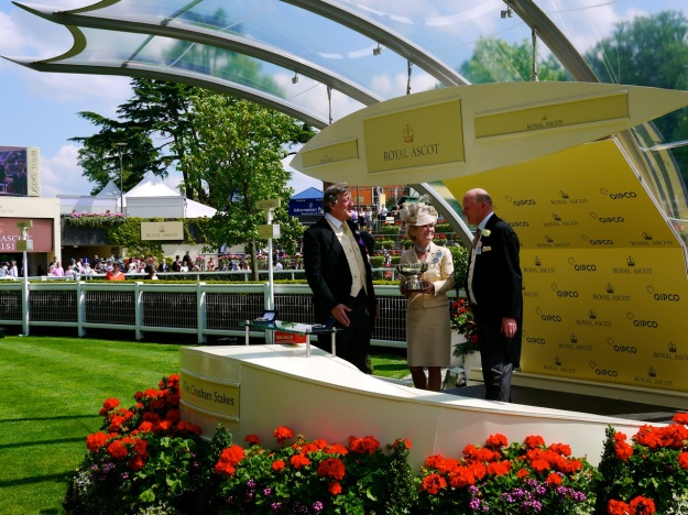 Royal Ascot Parade Ring Trophy Steven Fry