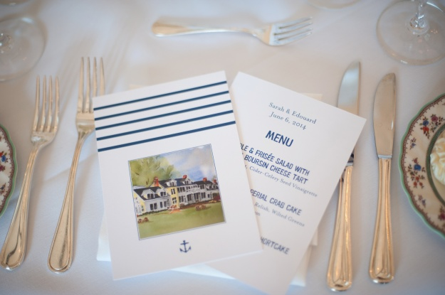 Custom Nautical Wedding by Paperless Post