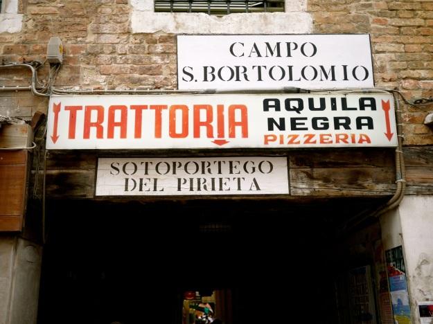 B Venice Signs