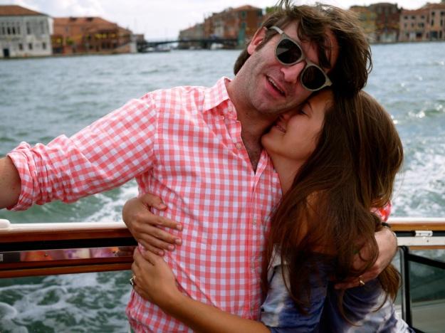 Day 2 Venice Boat Hug