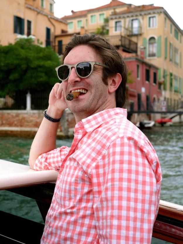 Day 2 Venice Cigar Shades Smile