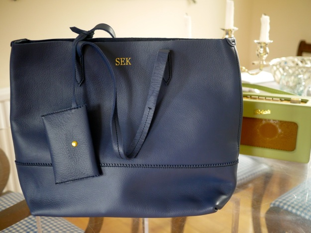 J Crew Darlington Bag Navy