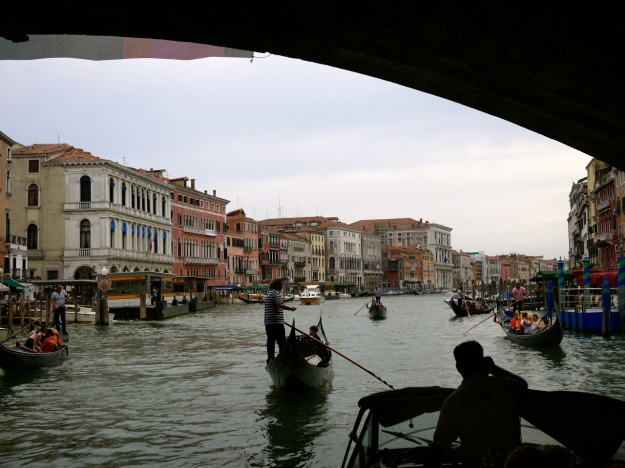Venice Boat Grand Canal