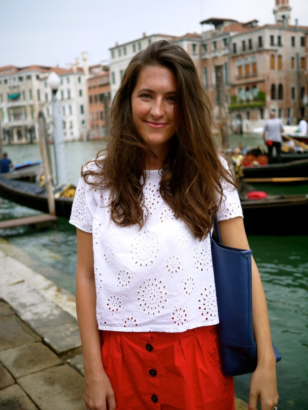 Venice Gondola Portrait
