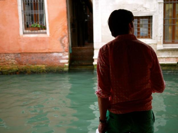 Venice Waiting for Gondola