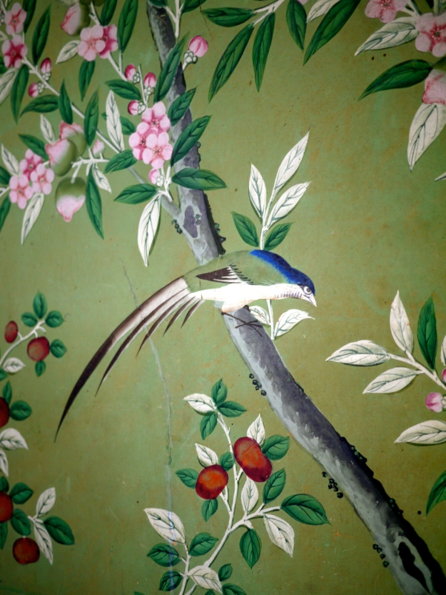 Broughton Castle Bedroom Wallpaper