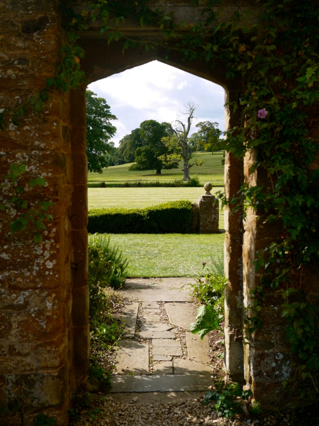 Broughton Castle Outside Garden Arch