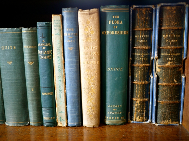 Broughton Castle Sitting Room Books