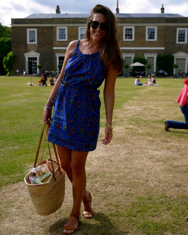 Picnic Dress Fulham Palace