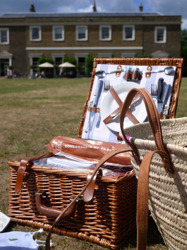 Picnic Open Hamper Fulham Palace London