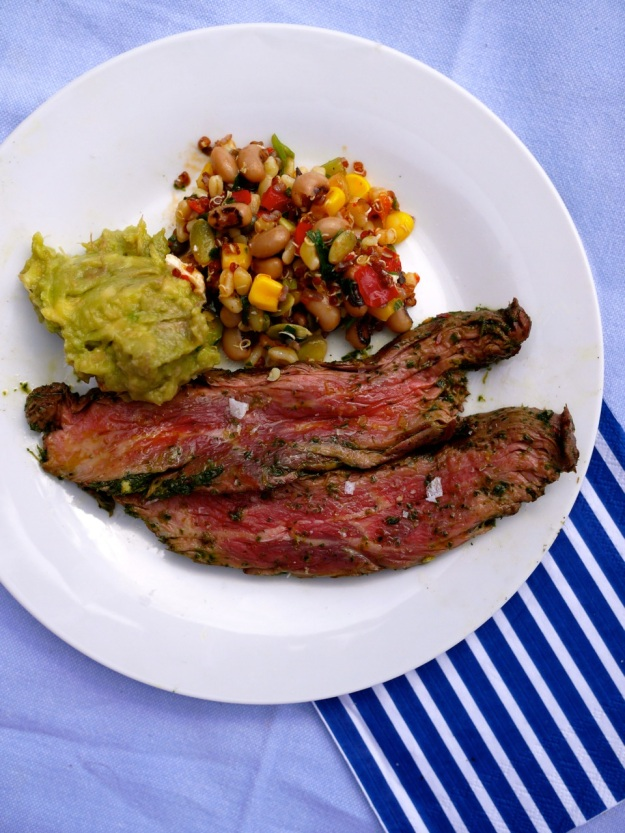 Picnic Steak Bavette Guac