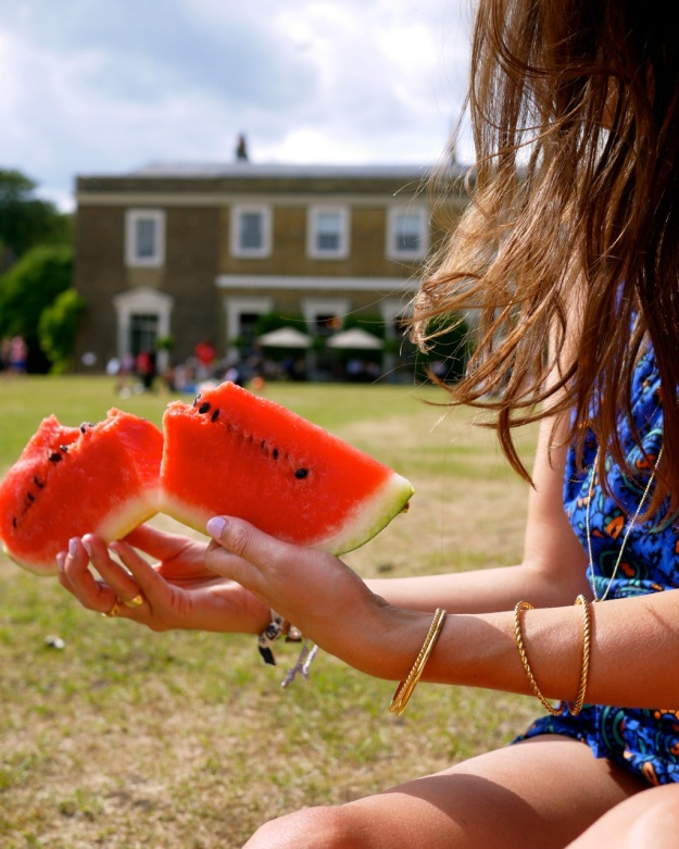 Picnic Watermelon Break Share Fulham Palace