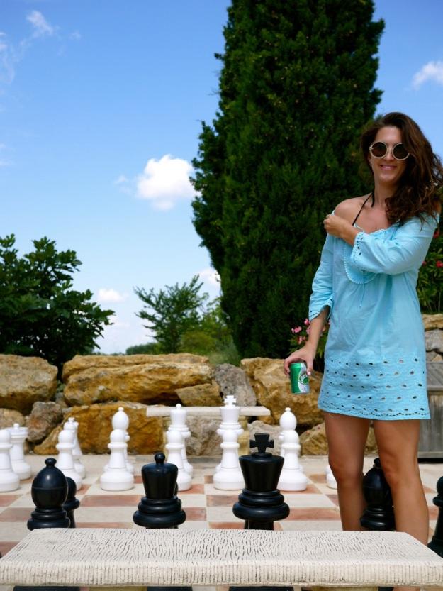 Poolside Walk Chess