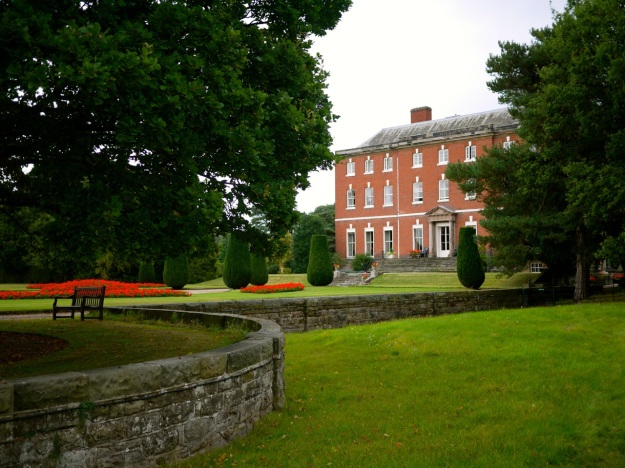 Catton Hall Side View Front Lawn