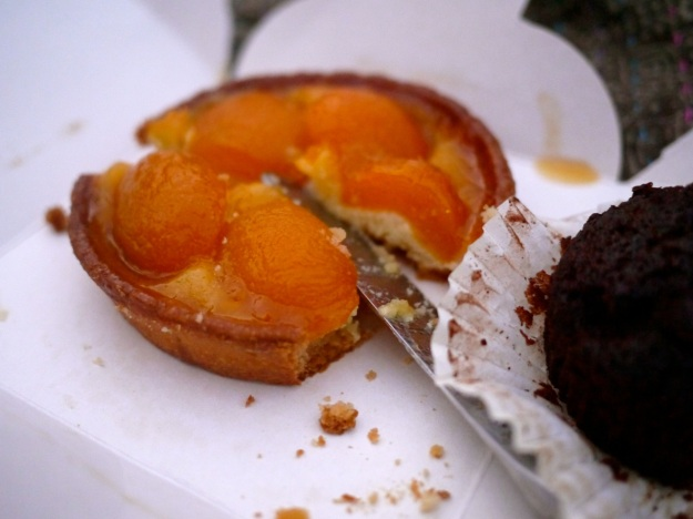 Picnic Blanket Food Apricot Tart