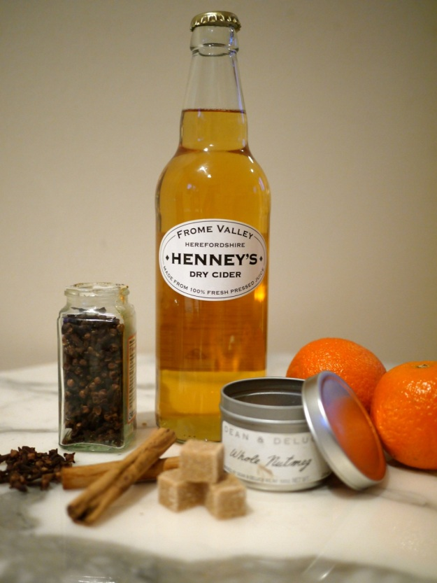Hot Mulled Cider Ingredients
