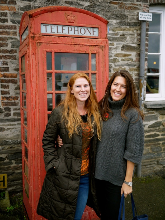 Padstow Phonebooth Girls