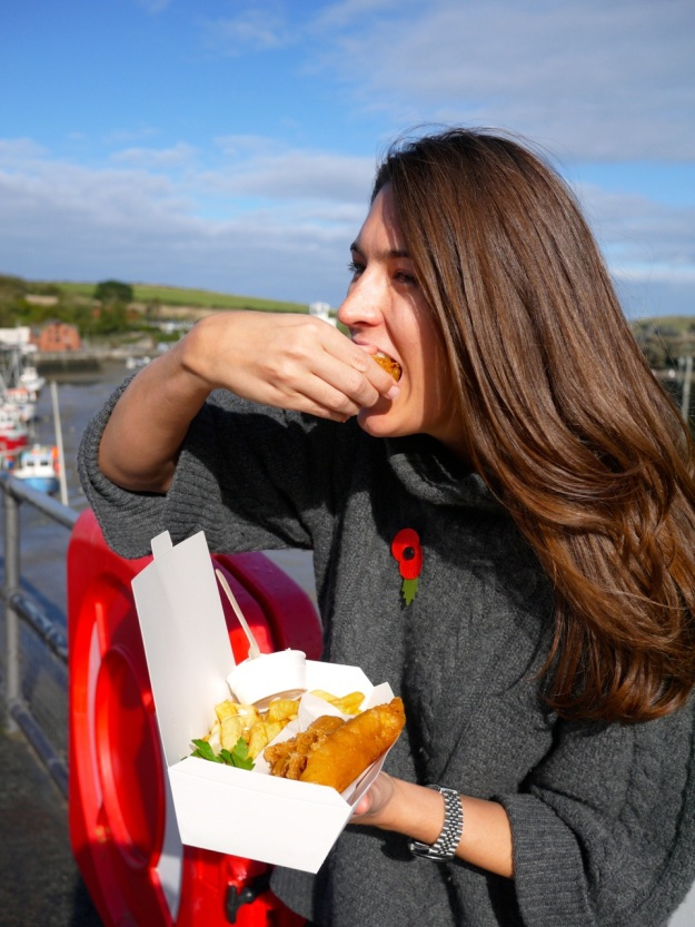 Padstow Rick Stein Fish and Chips Bite