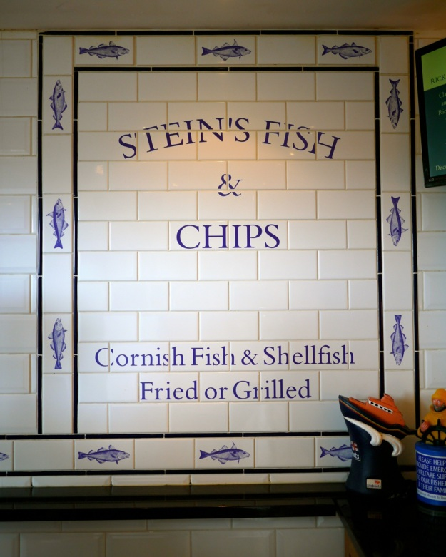 Padstow Rick Steins Fish and Chips