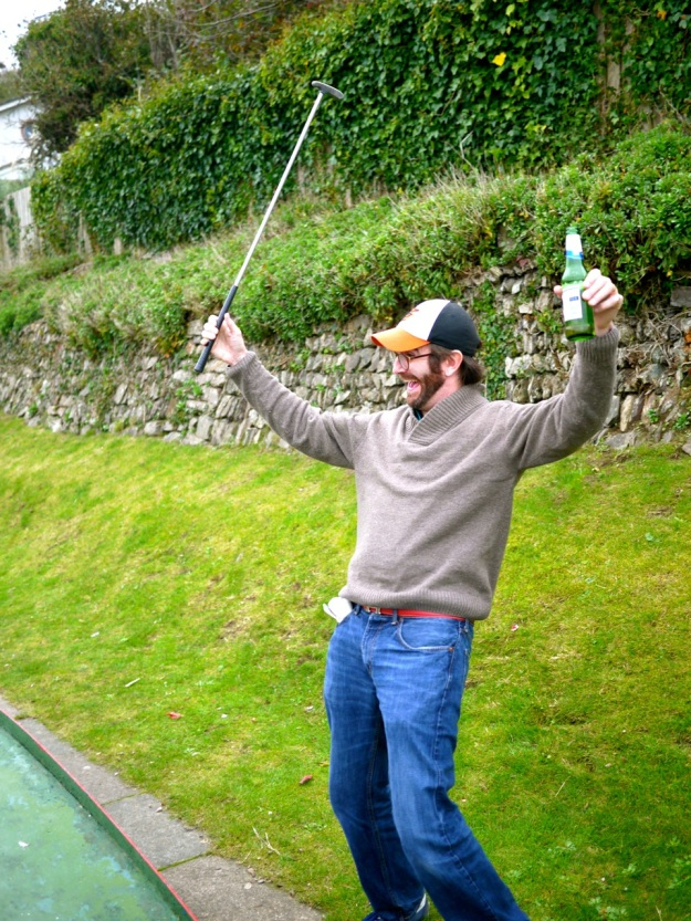 Polzeath Crazy Golf Another Hole in One