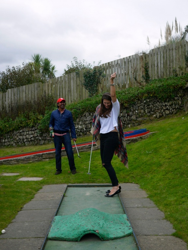 Polzeath Crazy Golf Hole In One