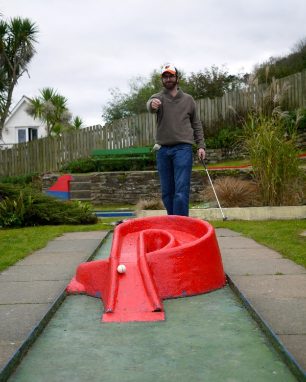 Polzeath Crazy Golf Loopty Loop
